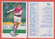Arsenal Tony Adams England